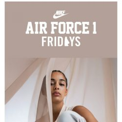 [Nike] Force Friday: Air Force 1 Elevated for Her