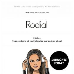 [RODIAL] New: The Podcast Series From Mrs Rodial 🎧