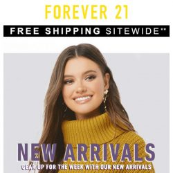 [FOREVER 21] 🎶 Cue the holiday music + free shipping!