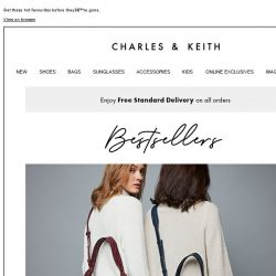 [Charles & Keith] Back By Popular Demand