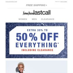 [Last Call] NEW! 30%–50% off fresh fall style