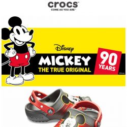 [Crocs Singapore] Come! Join us Celebrating Mickey's 90th Birthday at Crocs🎉