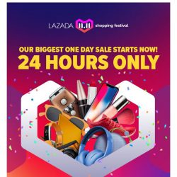[Redmart] Lazada's 11.11 sale starts NOW - Up to 90% OFF!