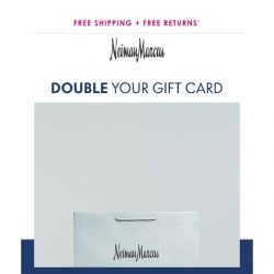 [Neiman Marcus] 30% back on your purchase (Limited time only!)