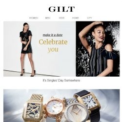 [Gilt] The Singles' Day Chic | BYREDO to Clive Christian