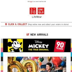 [UNIQLO Singapore] Celebrate Mickey with this new collection!