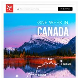 [Kaligo] , quench your thirst for adventure with our one-week Canadian itinerary