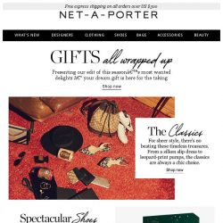 [NET-A-PORTER] Your chic holiday gift guide