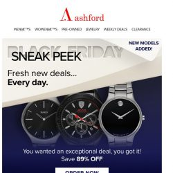 [Ashford] JUST ADDED! Additional watches to our Sneak Peek