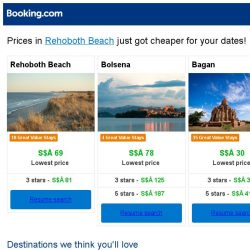[Booking.com] Prices in Rehoboth Beach are dropping for your dates!