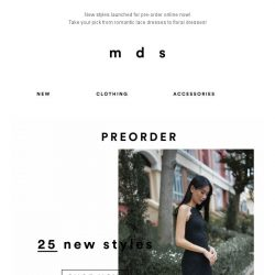 [MDS] NEW FOR YOU | Launched Online Now!