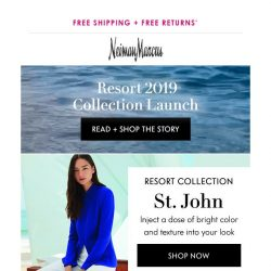 [Neiman Marcus] Luxe new knits from St. John