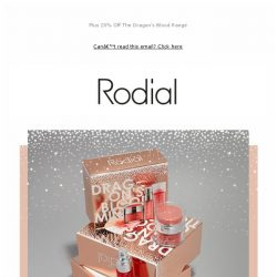 [RODIAL] Our Christmas Shop Just Got Bigger 🎁