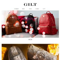 [Gilt] MCM for Her & Him | FENDI