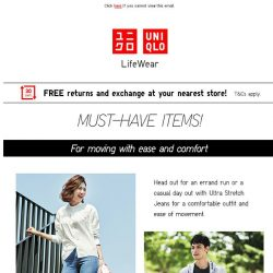 [UNIQLO Singapore] Must-have items!