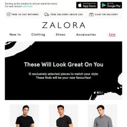 [Zalora] 12 hero pieces you need in your wardrobe!