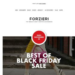 [Forzieri] Best of Black Friday SALE up to 80% OFF