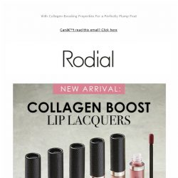 [RODIAL] Introducing The New Lip Lacquer To Love 💗