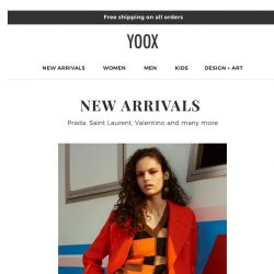 [Yoox] I'm here for you! Discover the latest arrivals
