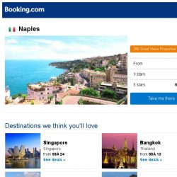 [Booking.com] Deals in Naples from S$ 24