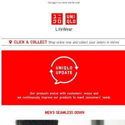 [UNIQLO Singapore] Discover improvements to Seamless Down & HEATTECH!