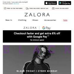 [Zalora] 📣 3-HOUR SALE: Get EXTRA 30% Off Sitewide
