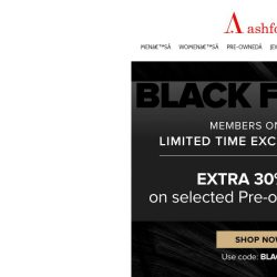 [Ashford] EXTRA DISCOUNT on Select Pre-Owned Watches – Limited Time