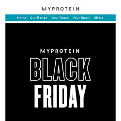 [MyProtein] 50% Off Everything Ends Soon...