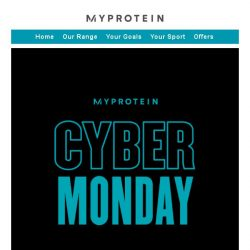 [MyProtein] Biggest Sale of the Year - Last Chance!