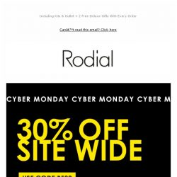[RODIAL] Last Chance | 30% Off EVERYTHING 💕