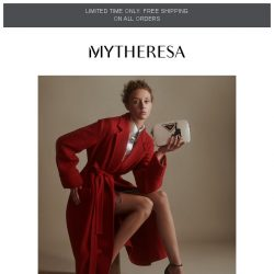 [mytheresa] Limited time free shipping + How to style: it's party time