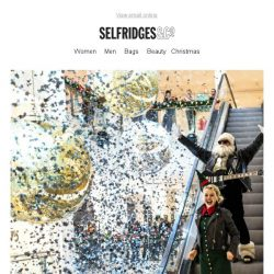 [Selfridges & Co] Selfridges Rocks Christmas: 10 days of amazing events