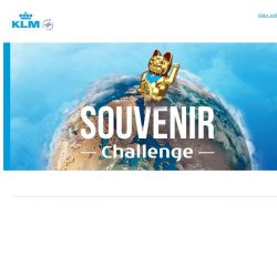 [KLM] Test your souvenir knowledge and win two tickets