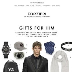 [Forzieri] Gifts for Him