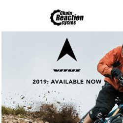 [Chain Reaction Cycles] It's all NEW: Vitus 2019 MTB Range 😍