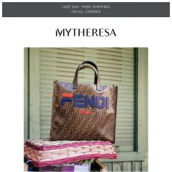 [mytheresa] Last day free shipping + Maxi bags | The pieces you loved this week