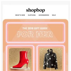 [Shopbop] Gifts for all the ladies on your list (yep, even you!)