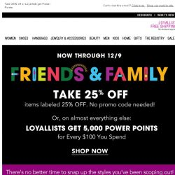 [Bloomingdales] You scoped it out, now get it during Friends & Family