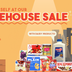 Meiji: Annual Warehouse Sale 2018 with Discounts on Meiji Snacks, Hello Panda, Yan Yan, Meiji Milk & More!