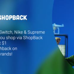 ShopBack: Black Friday Cyber Monday Sales - Get Up to 30% Cashback + Win Nintendo Switch, Nike, Supreme Bundle & More!