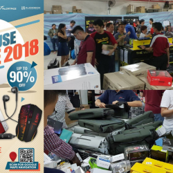 SonicGear: Warehouse Sale 2018 with Up to 90% OFF Audio Products & Gaming Peripherals