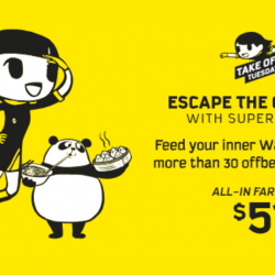 Scoot: Take Off Tuesday with All-In Fares from $51 to 37 Destinations!