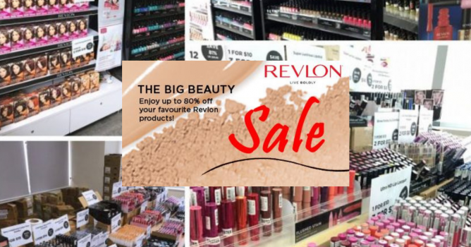 Start your Christmas shopping with Revlon! Enjoy up to 80% off on your  favourite Revlon cosmetics and hair color products. Plus, it s also your  last chance ... 2b4b9dc37c3