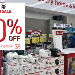 Tefal: Year End Sale with Up to 80% OFF Home Appliances & Cookware from Tefal, WMF, Krups & Rowenta