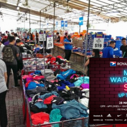 Royal Sporting House: Mega Warehouse Sale with Up to 80% OFF Reebok, Adidas, Speedo, Nike, Saucony & More!