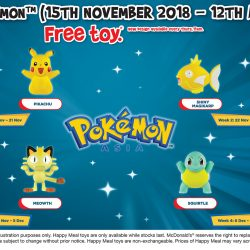 McDonald's: FREE Pokemon Toy with Every Happy Meal Purchased