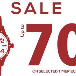 Crystal Time: Warehouse Sale with Up to 70% OFF Timepieces from Arbutus, Luminox, Edox, Claude Bernard & More!