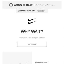 [Nike] Get it before it's gone