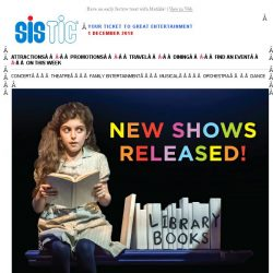 [SISTIC] Matilda The Musical - new shows released for Christmas! Book today.