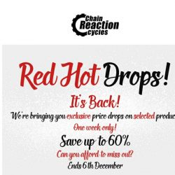 [Chain Reaction Cycles] Yes, It's Back: Up to 60% Off 🔥